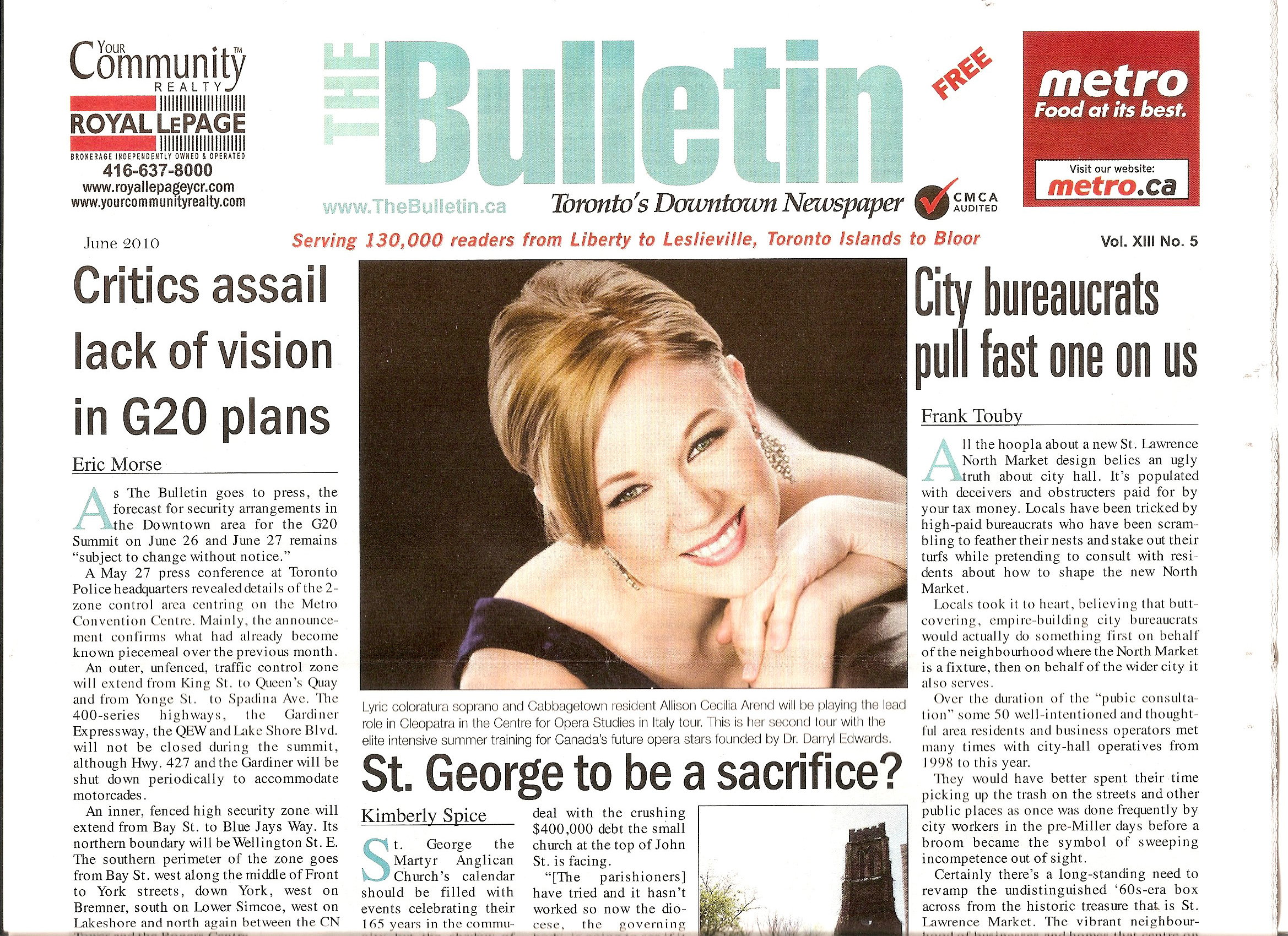 The Bulletin Feature